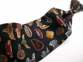 NICOLIE Miller Nwt HARLEY DAVIDSON Handsewn Mens 100 SILK Necktie s 812* - $19.79