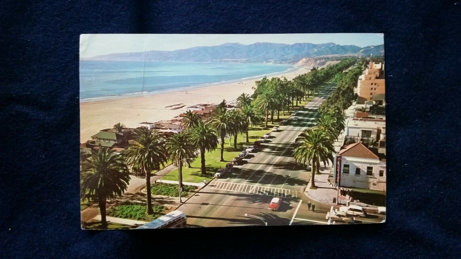 Primary image for Pacific Pallisade Park Santa Monica Overlooking Beach, California  CA Calif 1960