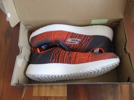 "BNIB Skechers® Energy Burst ""In The Mix"" Sport Shoes, Men, Grey/orange, $90 - $55.00"
