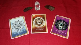 Crystal Mandalas Oracle Cards. Reading With Three Cards. One Question - $13.99