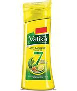 2 Packs of  Ayurveda Dabur Vatika naturals Anti Dandruff Shampoo 180ml. - $19.99