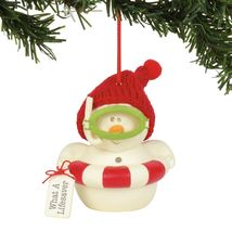 What a Lifesaver Holiday Ornament Snowpinions Beached Collection - $43.76