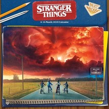 Stranger Things TV Series 16 Month 2019 Photo Filled Wall Calendar NEW S... - $8.79