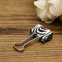 New 19mm Floral Foldback Binder Clips Metal Grip For Office Paper Documents - $3.23