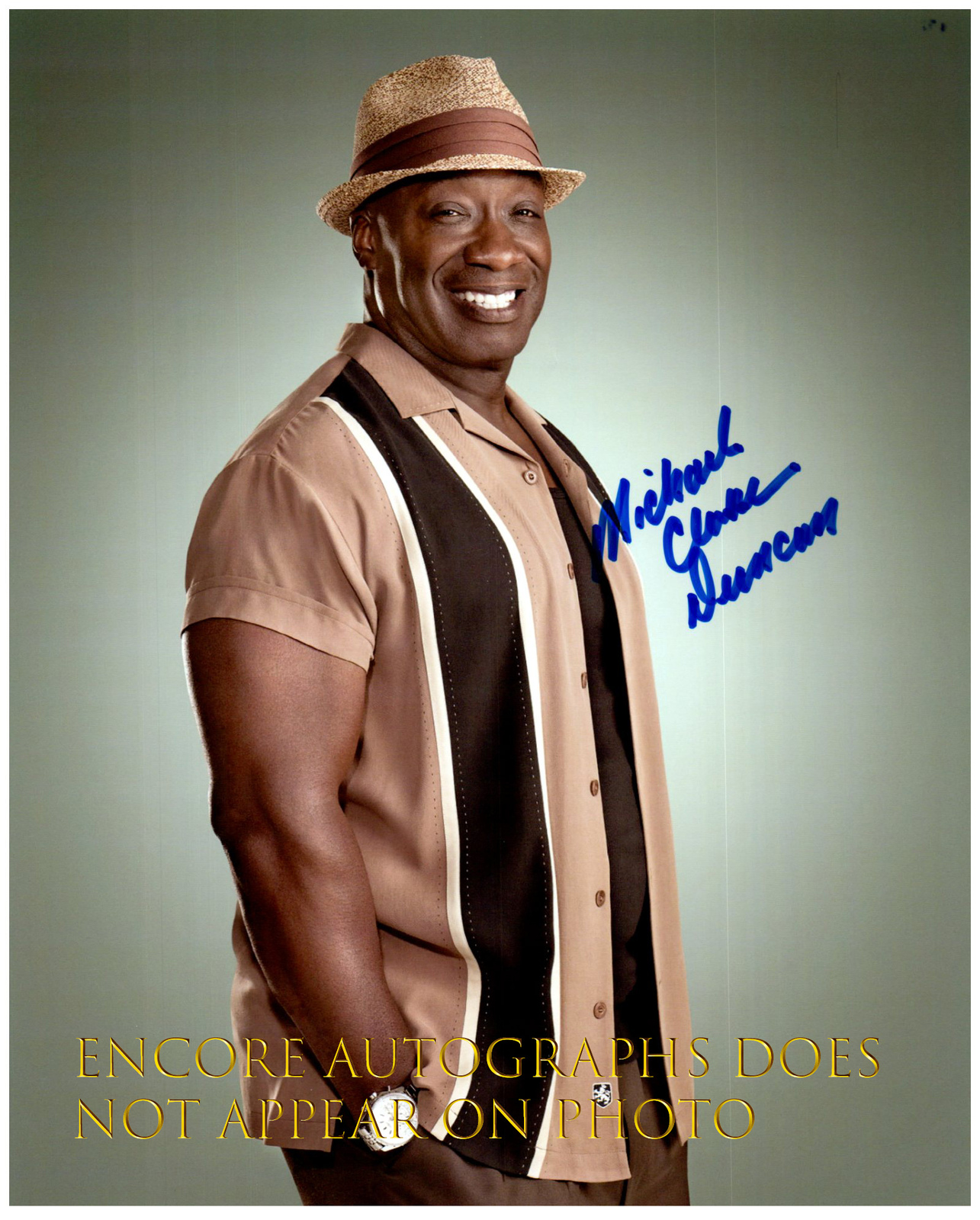 Primary image for MICHAEL CLARKE DUNCAN Authentic Original  SIGNED AUTOGRAPHED 8X10 w/ COA 432