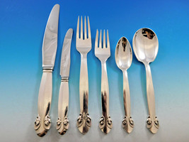 Bittersweet by Georg Jensen Sterling Silver Flatware Set 12 Dinner Service 78 Pc - $16,500.00