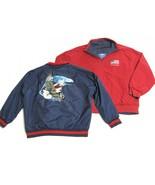Bradford Exchange American Eagle Reversible Jacket XL Patriotic USA Blu... - $19.75