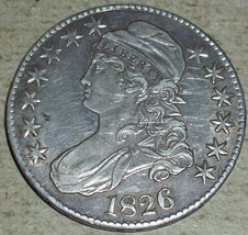 1826 Silver Capped Bust Half Dollar - $222.75