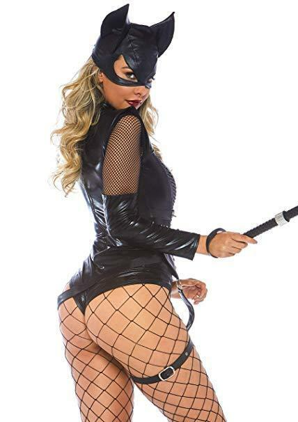 Leg Avenue -film Vixen Kätzchen Comicbuch Katze Damen Halloween Kostüm 86759