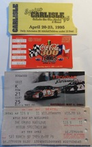 Car Racing 4 Ticket Stub Collection 85 Grand National 97 Coca Cola 300 9... - $8.95