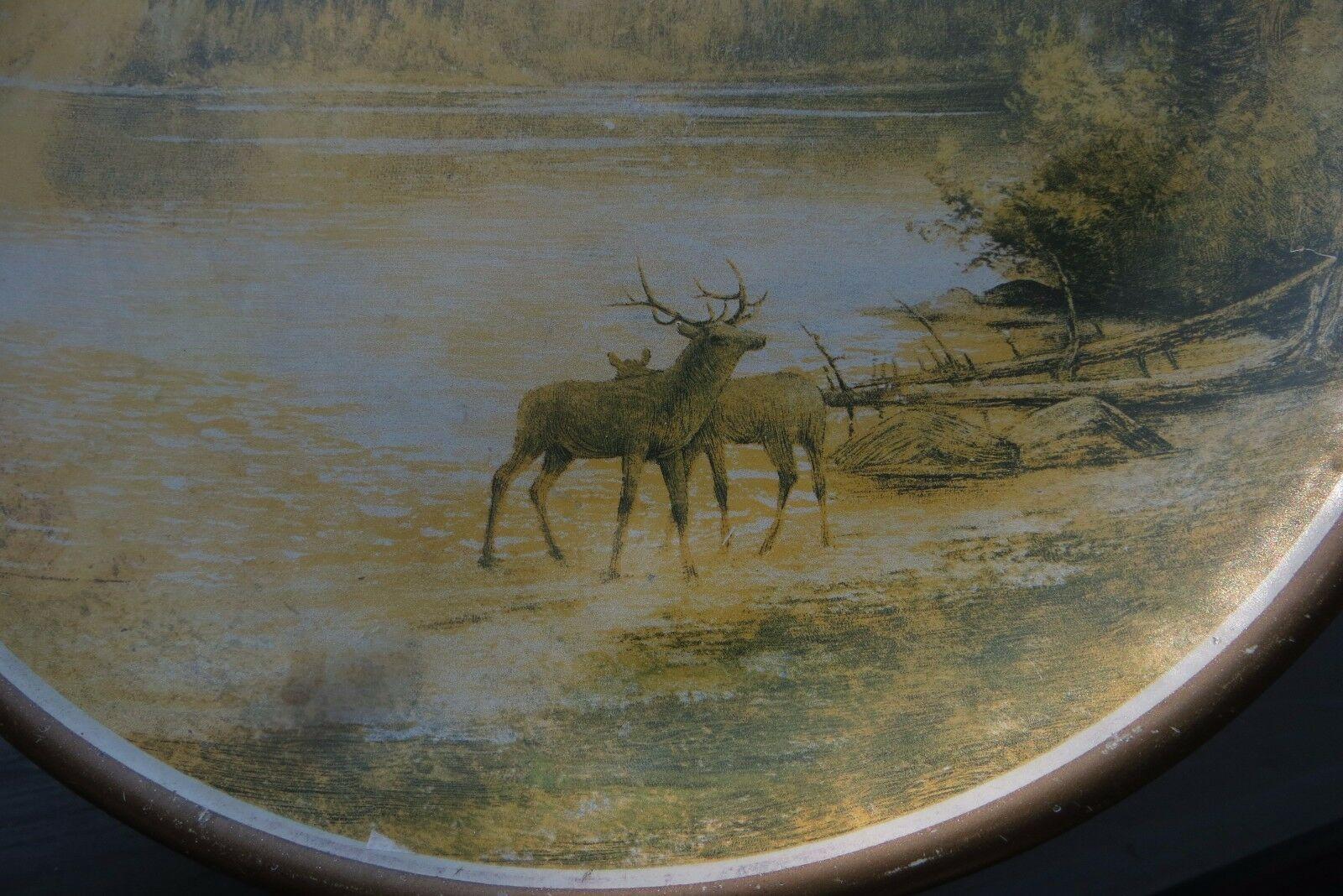 ORIGINAL 48th Annual Grand Lodge Elk Reunion 1912 Portland Oregon official plate