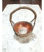Carnival Glass Made In Basket - $100.00