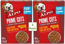 2 pk Purina Alpo Prime Cuts Savory Beef Flavor Adult Dog Food 1 Lb Box 1... - $14.80