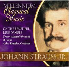 Johann Strauss Jr. CD On The Beautiful Blue Danube - $1.99