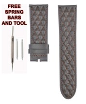 Compatible Invicta S1 Rally 90101 26mm Brown Genuine Leather Watch Strap... - $34.65