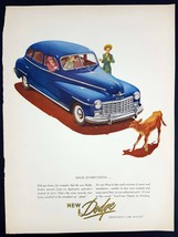 1947 Dodge Magazine Print Ad Hold Everything - $9.90