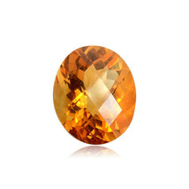 Natural Checkered Board AAAA Citrine Loose Gemstone Available 7x5mm-10x8mm - $12.95+