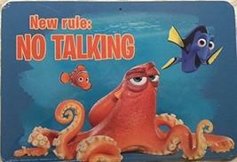 Finden Dory Nemo Disney 'S Pixar Neu Regel: keine Sprechen Kunst Mauer Schild - $5.41