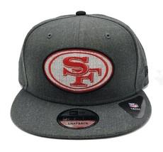 San Francisco 49ers New Era 9Fifty Heather Adjustable Snapback Hat NFL - $33.65
