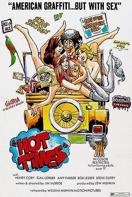 Primary image for Hot Times - 1974 - Movie Poster