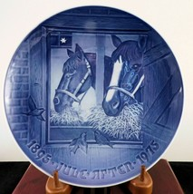 "Bing & Grondahl Jubilee Christmas Plate ""Christmas Night In The Stable"" ... - £15.75 GBP"