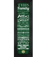 "Saint Vincent College ""Bearcats"" (Latrobe, PA)- 24 x 8 Family Cheer Fram... - $39.95"