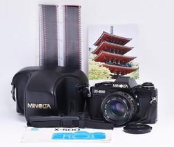 *Film Tested* MINOLTA X-500  Film Camera F.ZUIKO f1.7 40mm *Ready to Shoot* - $223.25