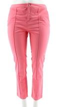 Liz Claiborne NY Jackie Ankle Pants East Side Pink 14 NEW A253708 - $26.71