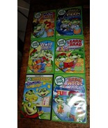 BIG DVD LOT leap frog math circus,moon word caper learn to read talking ... - $34.65