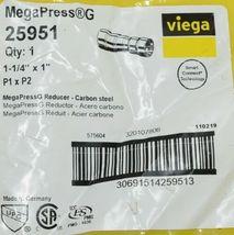 Viega Smart Connect Technology MegaPress G 25951 Reducer Carbon Steel image 4