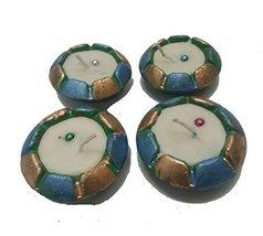 4 x DIY bowl shape Diwali diya OIL LAMP Indian traditional festival occa... - $17.82