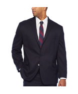 Shaquille O'Neal XLG Striped Stretch Classic Fit Suit Jacket Size 56 LON... - $89.99