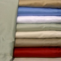 Extra Deep Pocket 4 PC Sheet Set 1200 TC Egyptian Cotton Queen-Size Soli... - $71.05+