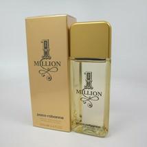 1 MILLION by Paco Rabanne 100 ml/ 3.4 oz After Shave Lotion Splash NIB - $42.56