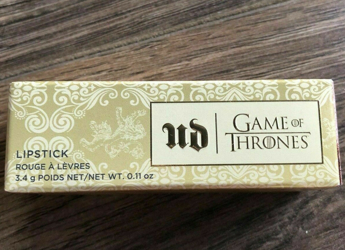 Primary image for URBAN DECAY Game Of Thrones VICE Lipstick Lip Stick CERSEI LANNISTER Bronze NIB