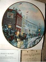 Thomas Kinkade'S YULETIDE MEMORIES- LIMITED EDITION - $95.00