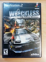 PS2 Wreckless: The Yakuza Missions (Sony PlayStation 2, 2002) Complete CIB - $6.92