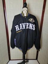 NFL G-III Baltimore Ravens Black Wool Blend Jacket Men's Size Large - $200.00