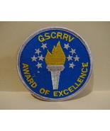 GIRL SCOUTS GUIDES Patch Souvenir Crest Emblem SCOUTING GSCRRV AWARD EXC... - $5.95