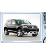 KEYTAG VW TOUAREG BLACK  SUV 4X4 TRUCK KEY CHAI... - $9.95