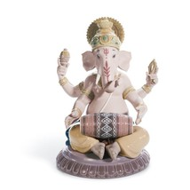 Lladro 01008316 MRIDANGAM GANESHA Buddhism and Hinduism 8316 New - $842.45