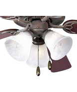 Cobblestone Finish Ceiling Fan Light Kit Progress Lighting P2600-33 - $38.52
