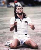 Bjorn Borg SA Vintage 16X20 Color Tennis Memorabilia Photo - $30.95