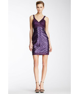 New Womens 6 NWT Sue Wong $539 Dress Dark Purple Beads Short Sequins Party Cocta - $539.00
