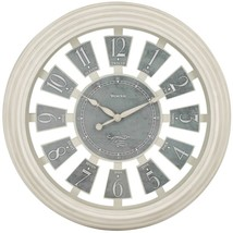 Westclox 36014AW-16 16-Inch Antique White Panel Clock - $32.90