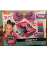 Cool Maker JoJo Siwa Bow Maker Kit, JoJo Bows, Hard to Find, NEW, HOT XM... - $49.01