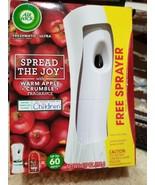 Air Wick Freshmatic Ultra Automatic Spray Warm Apple Crumble Fragrance - $11.87
