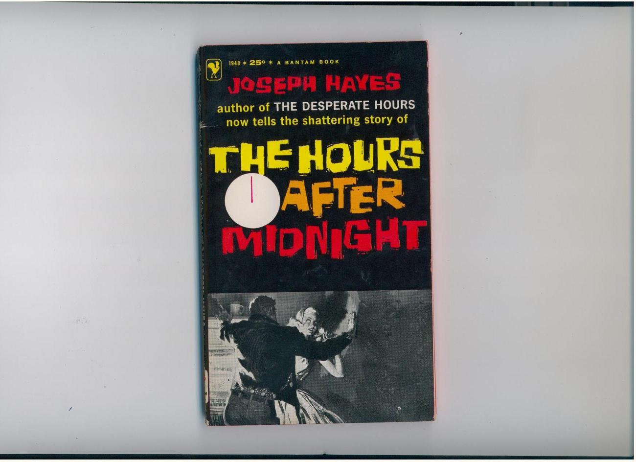 Hayes - HOURS AFTER MIDNIGHT - 1959 - suspense & JDs