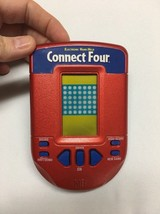 MB Connect Four 4 Year 2002 Handheld Electronic Game Pre-Owned - $17.18