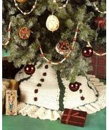 Y718 Crochet PATTERN ONLY Christmas Rosebuds St... - $7.45